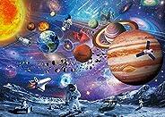 VanStar Space Puzzle 1000 Piece Puzzles for Adults Kids – Space Passenger, Floor Puzzle Kids Puzzle Toys &