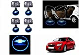 #6: Speedwav Stick On Car Door Ghost Shadow LED Light Set of 4-Chevrolet Cruze Type 2 (2014-2015)
