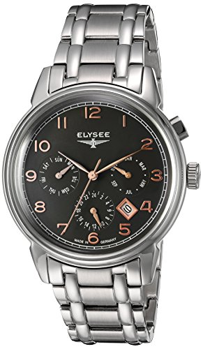 Elysee Mens Watch Classic Vintage Calendar automatic 80556S