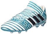 Adidas Nemeziz Messi 73 Fg J, Scarpe per Allenamento Calcio Bambino, (Ftwr White/Legend Ink/Energy Blue), 38 EU
