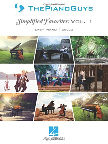 The piano guys - simplified favorites, vol. 1 piano