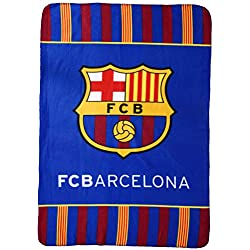 Oficial Barcelona F.C. Manta Polar Supersuave