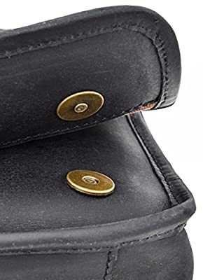 Gusti Cuir studio sac à main sac de soirée sac pour sortir sac de loisir sac en bandoulière homme femme cuir de buffle noir 2U12-26-80