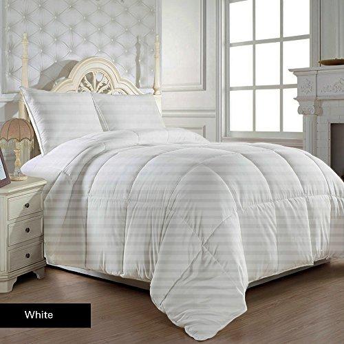 robert-matthew-bedding-600-hilos-edredon-con-juego-de-sabanas-uk-de-300-gsm-doble-blanco-de-rayas-10