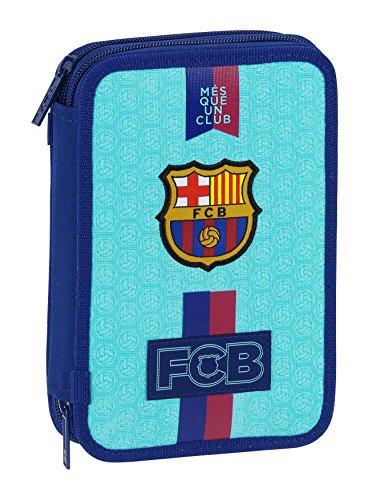 FCB FC Barcelona 2ª Equipación Estuche 34 útiles incluidos, 135 x 45 x 205 mm