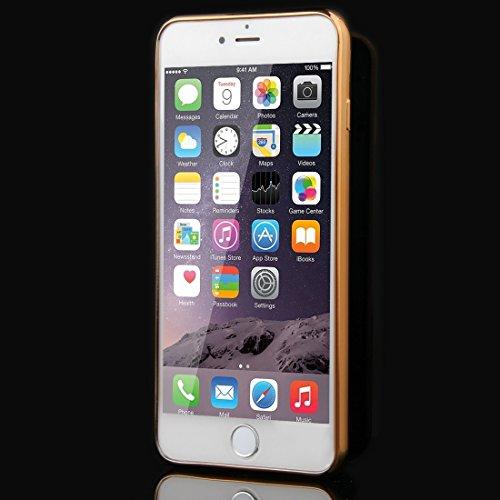 BING Für iPhone 6 / 6s, Blumen Muster Galvanisieren Soft TPU Schutzhülle Fall ( SKU : IP6G1010C ) IP6G1010B
