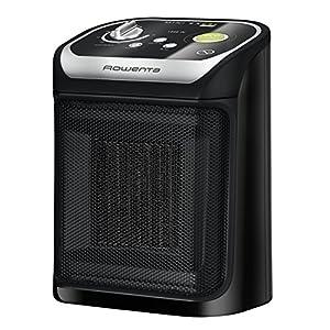 Rowenta SO9265F0 Mini Excel Eco – Calefactor cerámico de rápido calentamiento con potencia regulable de 1.000 W 1.800 W, termostato, función Eco, función silence solo 49 dBA