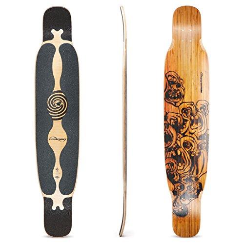 Loaded Boards Bhangra Bamboo Longboard Skateboard Deck (Flex 1 )