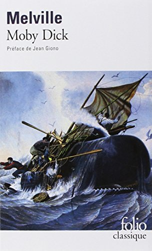 Moby Dick Folio Gallimard French Edition By Herman Melville