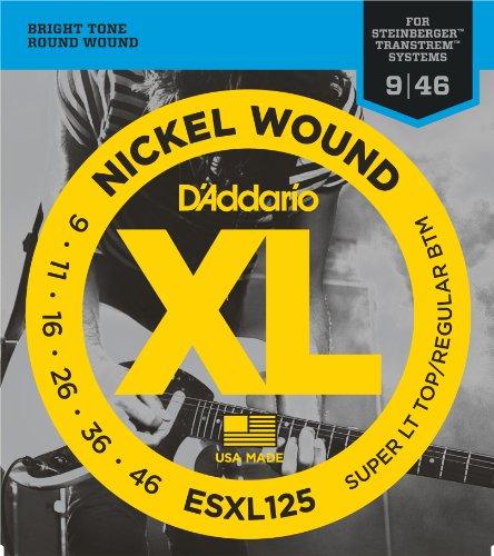 DADDARIO ESXL125   JUEGO DE CUERDAS DE NIQUEL   009    046 (EXTREMO DE BOLA)