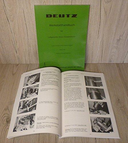 Werkstatthandbuch Deutz Motor F/L 812 F/L 812D F1-6L812