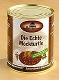 Die Echte Mockturtle - Eine äußerst delikate Spezialität. Nach altem, überliefertem Familienrezept