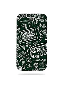 alDivo Premium Quality Printed Mobile Back Cover For Samsung Galaxy Note 2 / Samsung Galaxy Note 2 Case Cover (XT006)