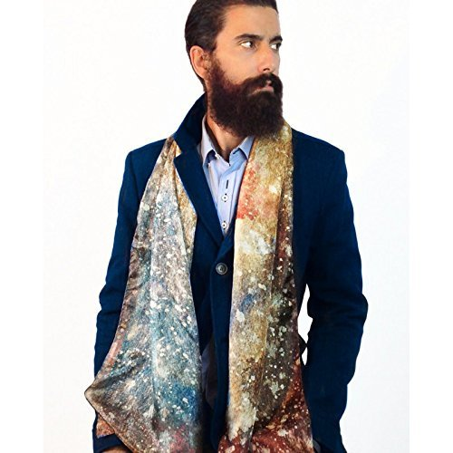 Elegant man silk scarf - No more ties!