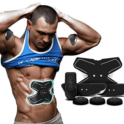 EMS Electroestimulador Muscular Inteligente, Ejercicio físico, Músculos Abdominales, Entrenamiento...