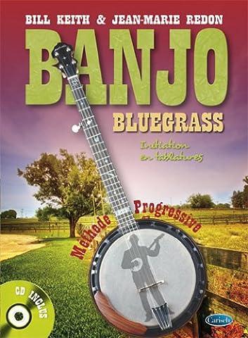 Banjo Bluegrass Initiation en Tablatures (Buch/CD)