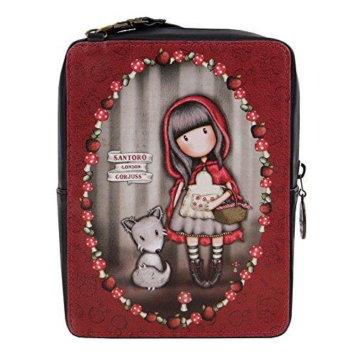 Santoro Gorjuss - Handtasche - Rectangular Bag - Little Red Riding Hood
