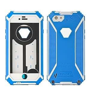 BOLISH - Coque pour iPhone 6 / IP67 / Résistant à la poussière, choc, eau / Plastique et TPU / Verre Gorilla / Bleu