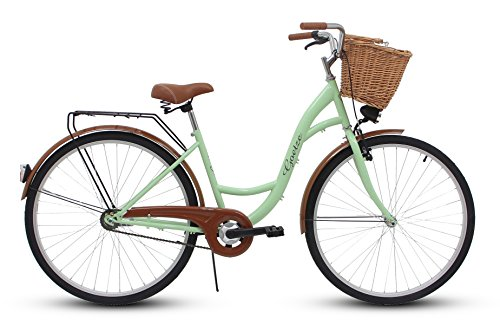 GOETZE 28″ 1B Classic Eco ,Fahrrad, Citybikes, Stadtrad Retro Vintage Pistazien