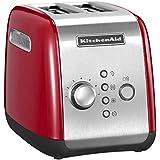Kitchenaid 5KMT221EER - Tostadora, color rojo y plateado
