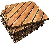 6x Diagonale, Motiv Deck, Hartholz, für Fliesen, Bodenbelag, Fliesen, Patio, Balkon, Terrasse, Deck,