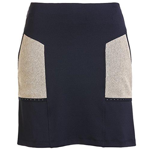 golfino-mini-jupe-short-de-golf-dry-comfort-avec-garniture-en-strass-bleu-m