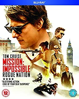 Mission: Impossible - Rogue Nation [Blu-ray] [Region Free] (B012G02W52) | Amazon price tracker / tracking, Amazon price history charts, Amazon price watches, Amazon price drop alerts