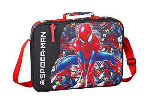 "Spiderman \""Super Hero\"" Oficial Cartera Extraescolares"