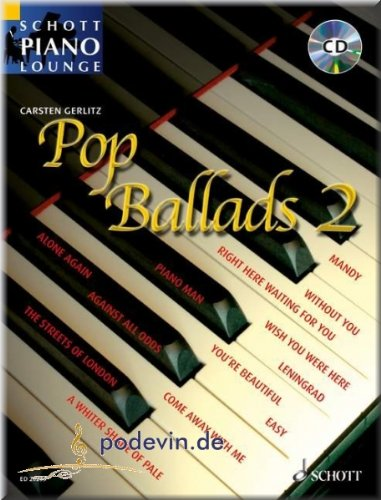Pop Ballads 2 - Klaviernoten [Musiknoten]