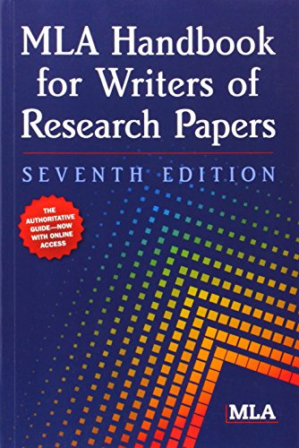 online mla handbook for writers of research papers Mla handbook for writers of research papers [joseph gibaldi] on amazoncom free shipping on qualifying offers for use in schools and libraries only provides guidelines and examples for.