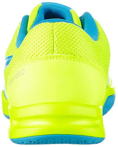 Puma evoSPEED Indoor 5.4 Unisex-Erwachsene Hallenschuhe Gelb (safety yellow-atomic blue-white 03)