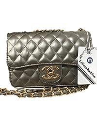 09f0ba32f1924 liyuan Handtaschen Messenger Bag Lingge Kette Paket Schulter Mode Mini  Tasche