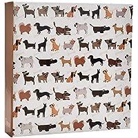 ARPAN Cute Dog Slip in Case Memo Album 6x4 for 200 Photos, Scotty, 23 X 23 cm