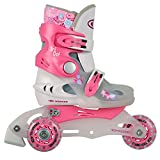 Kinder Inlineskates Triskates TriGo pink Gr. XS 26-29 verstellbar