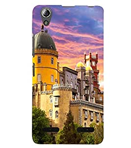 PRINTSWAG PALACE Designer Back Cover Case for LENNOVO A6000