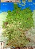 GeoReliefkarte Deutschland (Kunststoff)