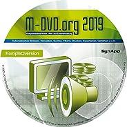 M-DVD.Org 2019 - Komplettversion - Musik, Film & Cover-Verwaltung mit DVD-Ar