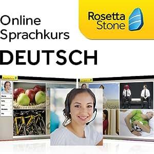 Rosetta Stone TOTALe Deutsch, Online Zugriff für 12 Monate