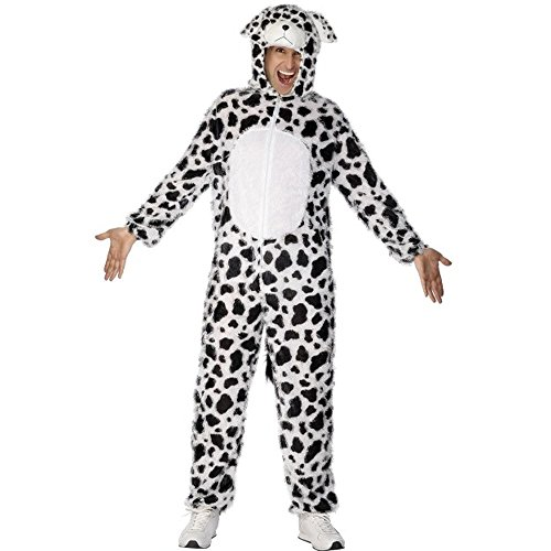 Unisex Kostüm Dalmatiner Hund Hundekostüm Karneval Fasching