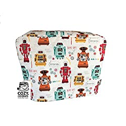 Cozycoverup® Housse de protection anti-poussière pour robots Kenwood robots rétro (Prospero 900w KM240 KM241 KM243 KM244 KM283 KM288)