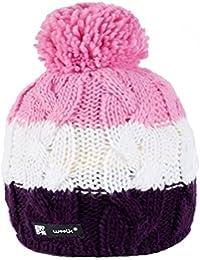 Wintermütze Mädchen Mütze Beanie Kinder Jungen Jugendliche Wurm Cookies HATSKI Hut mit Fleece gefüttert MFAZ Morefaz Ltd