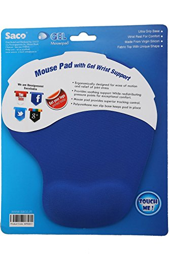 Saco Gel Mouse Pad - Dark Blue