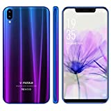 Cellulari offerte V·Mobile XS Pro 32GB ROM 3GB RAM Face Unlock Telefonia Mobile 5,85 Pollici 13MP 19:9 HD+ Pixel Android 7 Quad Core Telefoni Cellulari in offerta 3800mAh 3G+ Smart Gesto (1viola)
