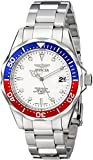 Invicta Men's 41mm Steel Bracelet & Case Quartz White Dial Analog Watch 8933