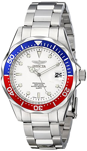 51x6mLTWBXL - Invicta Mens 8933 Pro Diver Collection Silver Tone watch