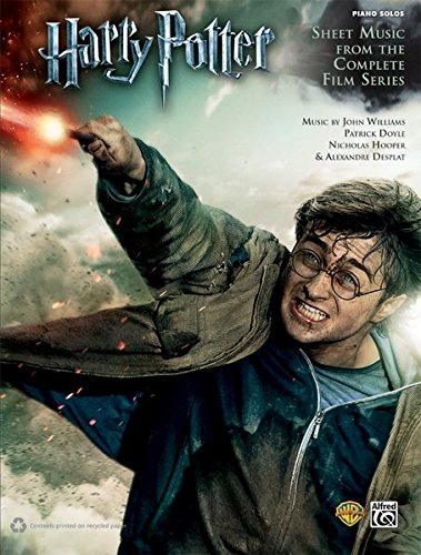 Harry Potter -- Sheet Music from the Complete Film Series: Piano Solos (Harry Potter Sheet Mucic) thumbnail