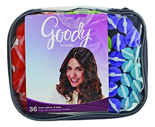 Goody Styling Essentials Foam Hair Roller, Mega Pack, 36 Count by Goody...