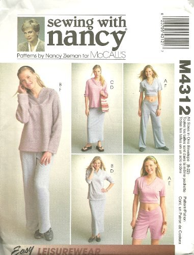 Misses Tops, Skirt, Pants And Shorts - For Stretch Knits