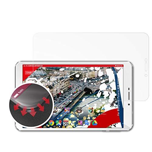 atFolix Schutzfolie passend für Blaupunkt Polaris A08.G301 Folie, entspiegelnde & Flexible FX Bildschirmschutzfolie (2X)