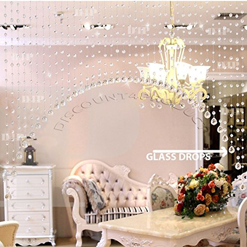 check MRP of crystal bead curtains for doors Discount4product